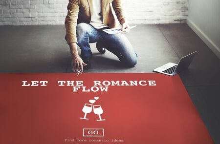 romance strategies: Let The Romance Flow Love Passion Valentines Concept