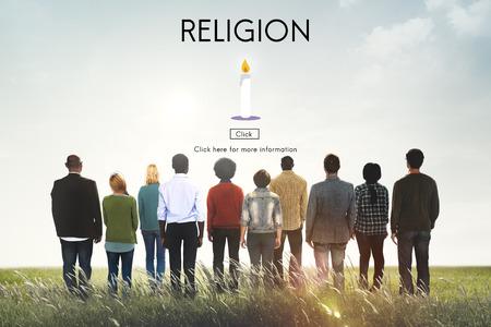 hope concept: Religion Pray Spirituality Hope Concept