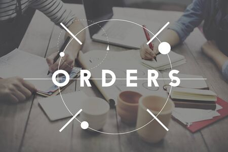 purchase: Orders Customer Purchase Merchandise Concept