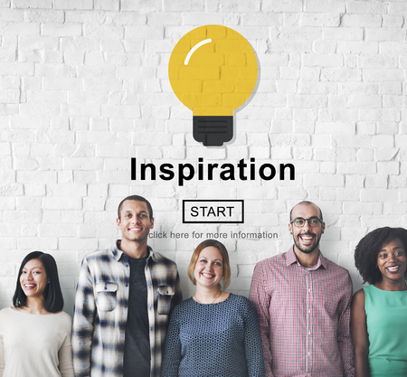to innovate: Inspiration Innovate Imagination Motivation Concept Stock Photo