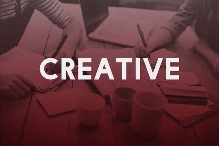 creative design: Creative Creativity Design Ideas Inspiration Innovation Concept Stock Photo