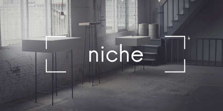 speciality: Niche Consumer Speciality Target Branding Area Concept Stock Photo