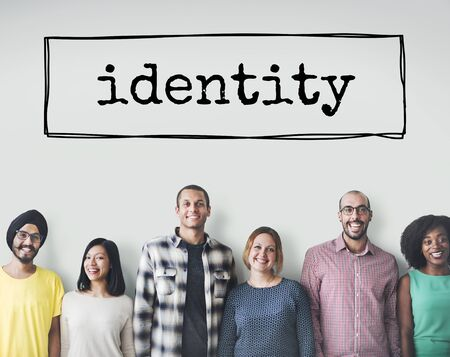 Identity Character Copyright Patent Trademark ID Concept Stok Fotoğraf