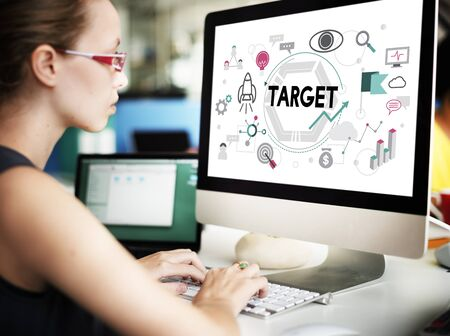 office automation: Target Aspiration Mission Vision Strategy Concept