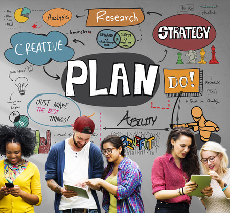 Research Plan Planning Ideas Business Concept