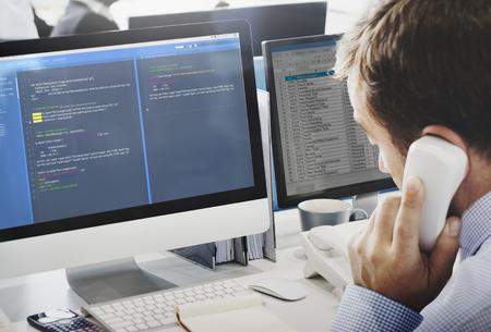 Software-Programmierung Web-Entwicklung Konzept