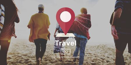 business group: Travel Journey Destination Trip Vacation Concept