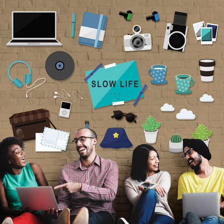 hobbies: Hipster Slow Life Hobbies Leisure Concept
