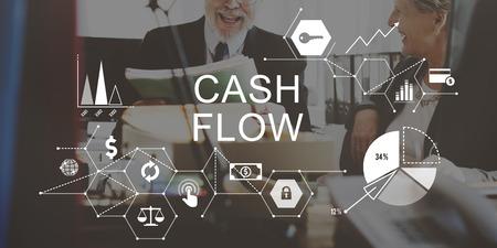 Cash Flow Finance Economy Revenue Funds Investment Concept