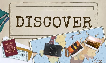 discover: Discover Discovery Exposure Travel Life Concept