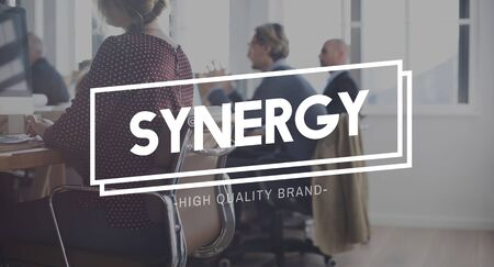 sinergia: Synergy Collaboration Cooperation Corporation Concept