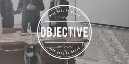 Objective Goal Target Aim Purpose Strategy Vision Concept
