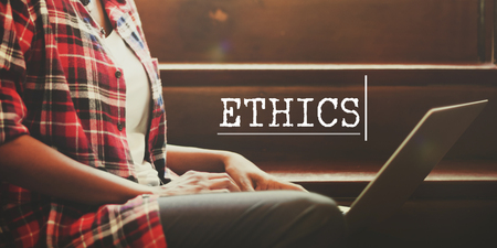 behavior: Ethics Behavior Ideals Strategy Integrity Concept