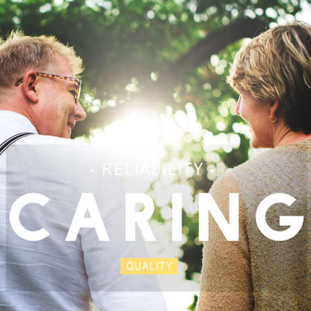 to tend: Caring Assurance Attention Protection Tend Care Concept Stock Photo