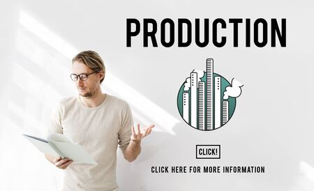 produced: Production Product Produced Branding Result Concept
