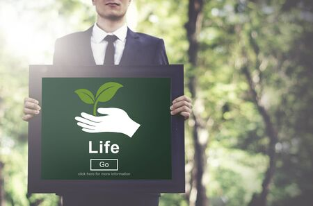 ecosystem: Life Ecosystem Conserve Environment Concept