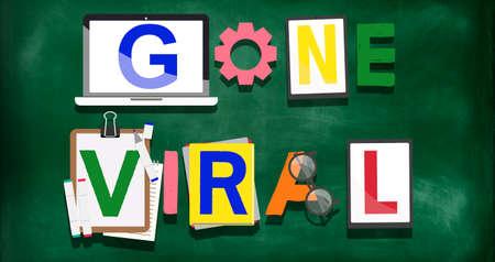 gone: Gone Viral Famous Popular Media Concept