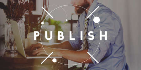 Publish Journalism Planning Produce Concept