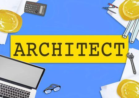perspective: Architecture Design Perspective Construction Concept