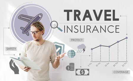 Reisverzekering Destination Toerisme Vakantie Concept