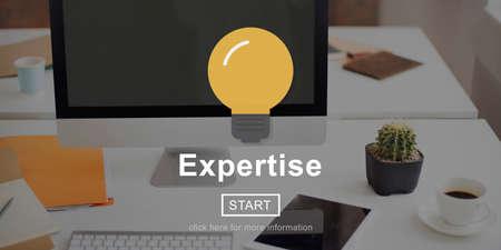 excellent: Expertise Professional Excellent Ability Brilliant Concept