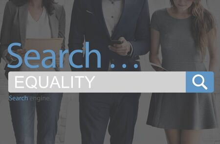 impartial: Equality Fairness Rights Impartial Concept Stock Photo