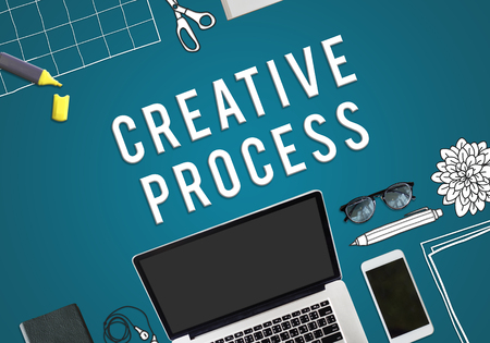 Creative process concept 版權商用圖片