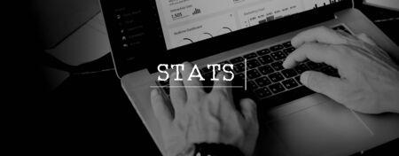 statistician: Stats Analyze Commerce Economic Finance Sales Conecept