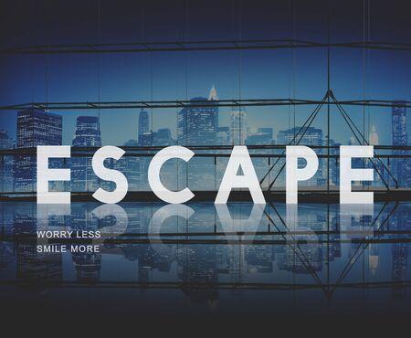 way out: Escape Way out Breakout Evacuation Concept