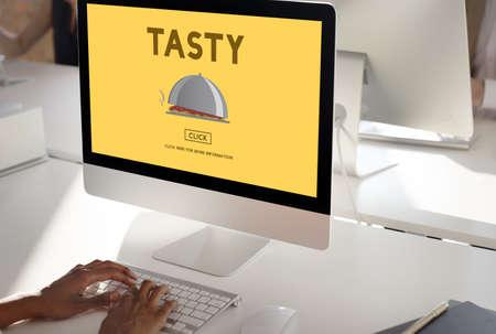 tasty: Tasty Taste Eating Fresh Spicy Concept Stock Photo