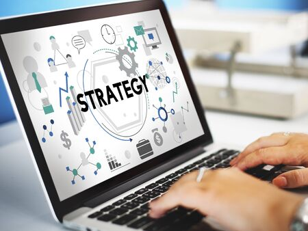 tactics: Strategy Tactics Vision Solution Process Concept Stock Photo