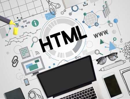 interconnection: HTML Communication Interconnection Internet Networking Concept