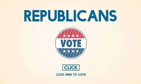 republican: Republican Democrat Election Group President Concept Stock Photo