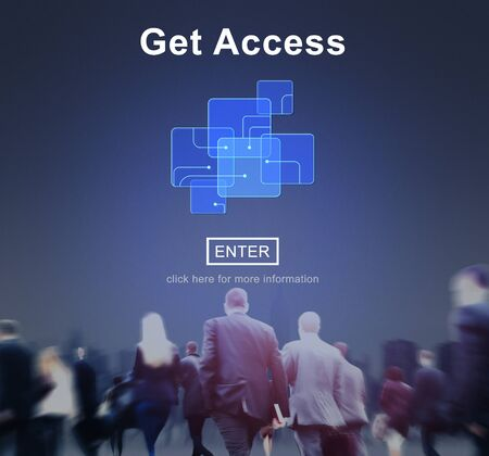 availability: Get Access Availability Obtainable Online Internet Technology Concept