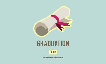 credential: Diploma Degree Graduation Course Education Concept