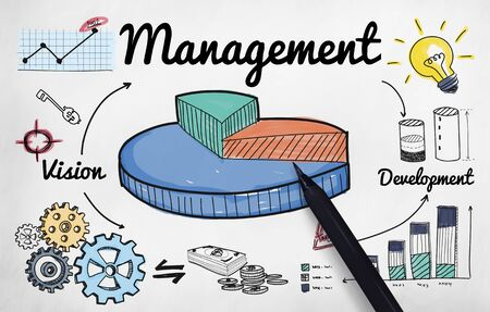 Management Manager Controlling Leadership Concept Stock Photo