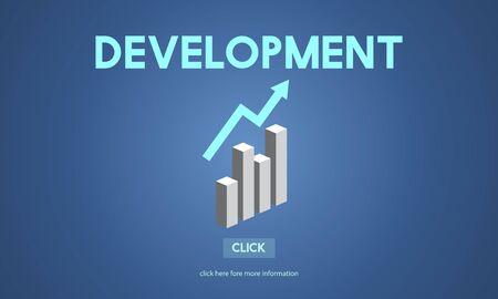 opportunity concept: Development Change Improvement Opportunity Concept Stock Photo