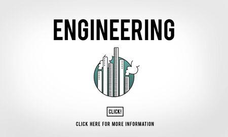 machinist: Engine Engineer Engineering Machine Occupation Concept