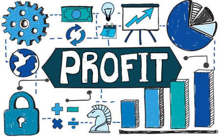 revenue: Profit Income Revenue Finance Economic Concept