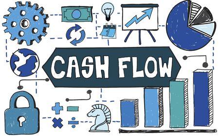 Cash Flow Business Finance Investment Concept