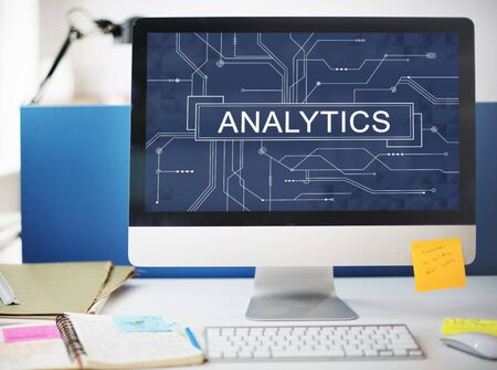 Analytics Analyze Data Analysis Informaion Research Concept