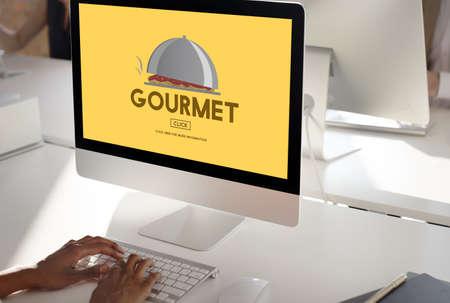 delicadeza: Gourmet Delicacy Dinner Food Healthy Meal Concept