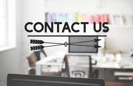 hotline: Contact Us Enquiry Help Hotline Info Concept