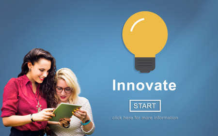 to innovate: Innovate Creativity Inspiration New Light Concept
