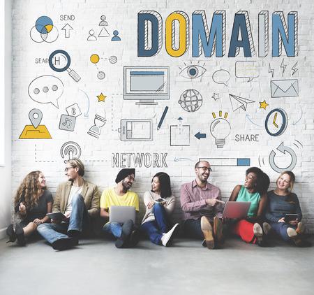 diversity domain: Domain Address Homepage Internet Website Concept Stock Photo