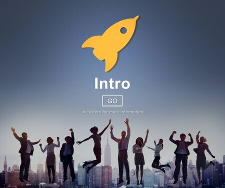 inception: Intro Launch Start Create Innovation Web Online Concept
