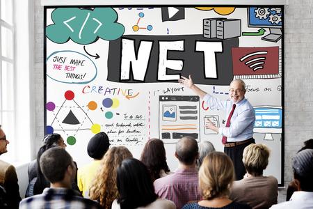 diversity domain: Net Worth Internet Network Computer Connection Concept
