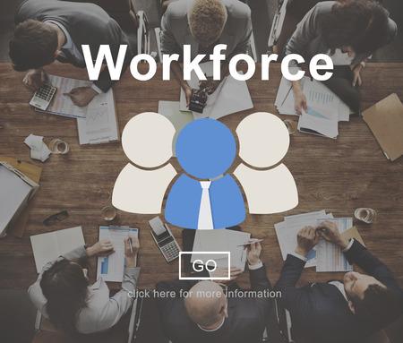 work force: Work Force Motivation Effort Energy Concept