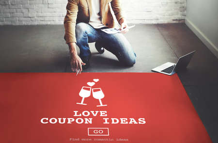 dating strategy: Love Coupon Ideas Gift Romance Valentines Concept