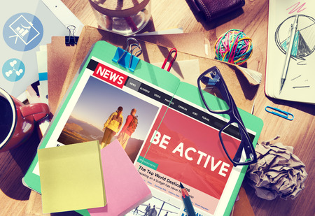 energetic: Be Active Energetic Action Exotic Fitness Concept Stock Photo
